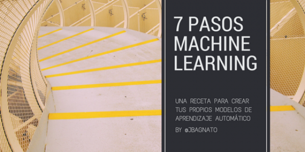 7 pasos del Machine Learning para construir tu máquina