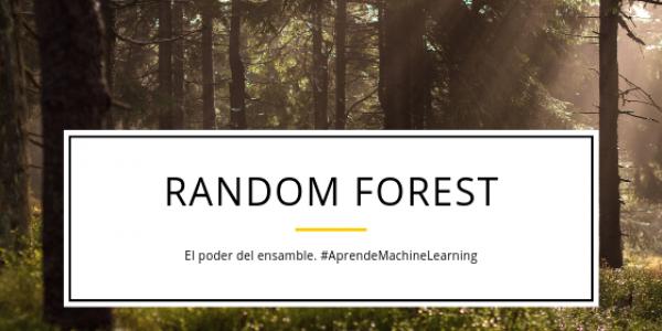 Random Forest, el poder del Ensamble